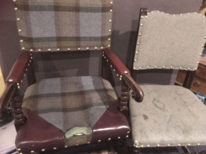 Worn chairs WP-Ready